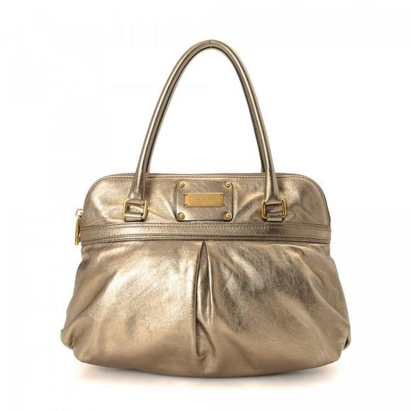 Marc Jacobs Handbags - MARC JACOBS - METALLIC HANDBAG